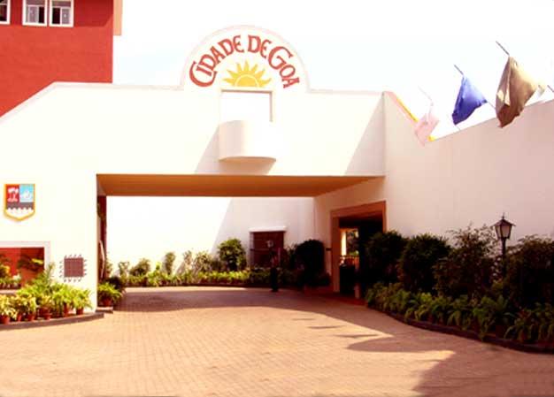 Main Entrance of Cidade de Goa Resort