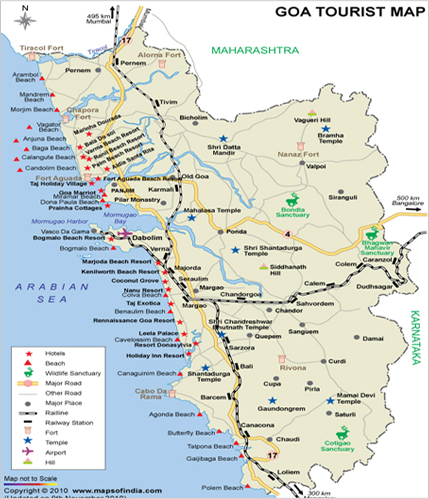 Goa Map, Map of Goa India, India Maps, Maps India, Maps of ... India Tourist Map Of Coastline Cities on tourist beaches, tourist place of india, metro cities of india, first cities of india, industrial cities of india, major cities of india, coastal cities of india, tourist attractions in india, religious cities of india,